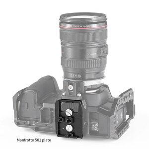 Image 4 - SmallRig płyta fundamentowa zestaw z 15mm zacisk kolejowy dla Blackmagic Design Pocket Cinema kamera BMPCC 4K(Manfrotto 501PL kompatybilny) 2266