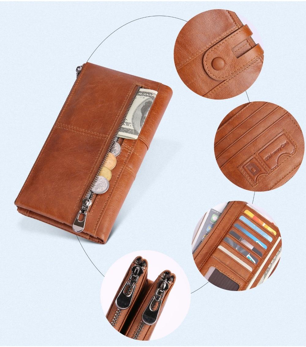 2072--Genuine Leather long Women Wallet-Casual Clutch Wallets_01 (6)