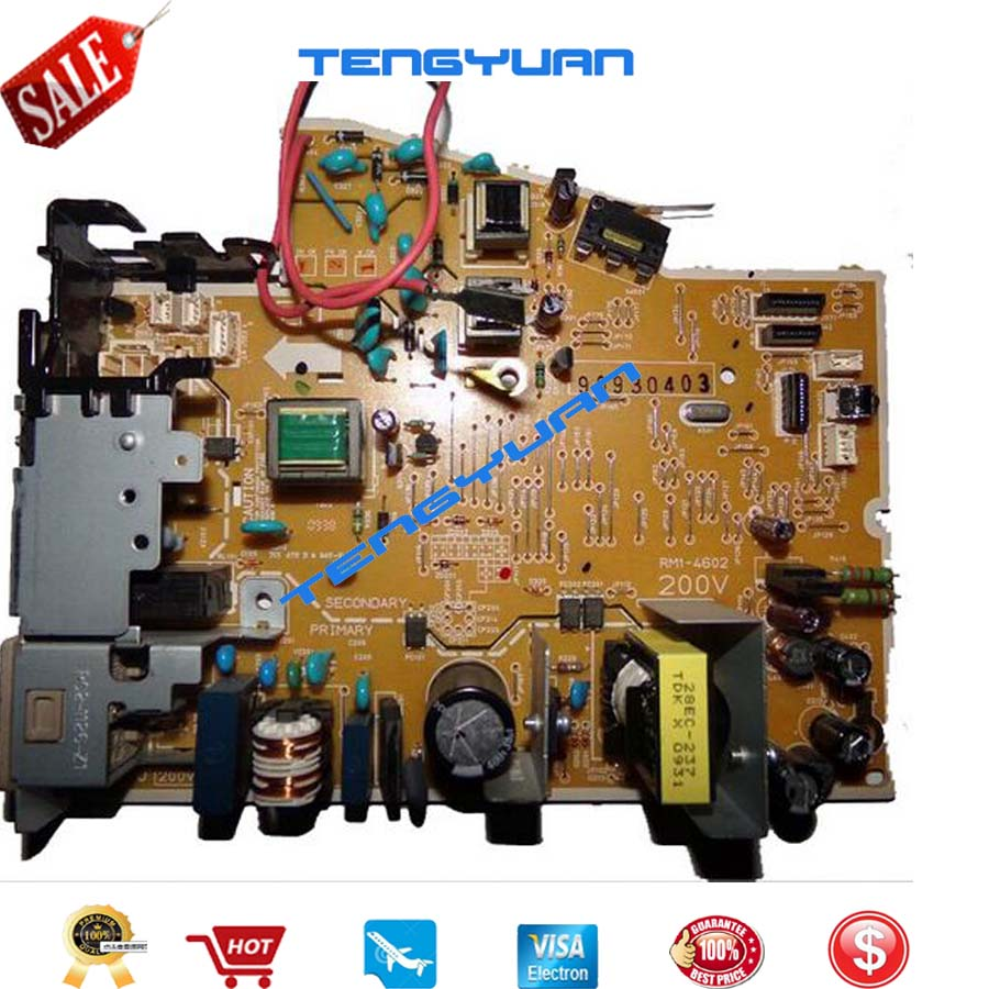 Free shipping 100% test original for HPP1005/P1006/P1008 Power Supply Board RM1-3941-000CN RM1-3941 RM1-4602-000 RM1-4602 free shipping new original for hp3525 cp3525 drive stepping motor drum motor rk2 2415 000cn rm1 4988 000cn rk2 2415 rm1 4988