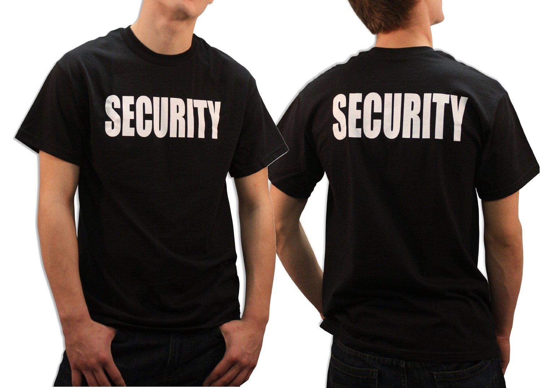 Black Security Shirt