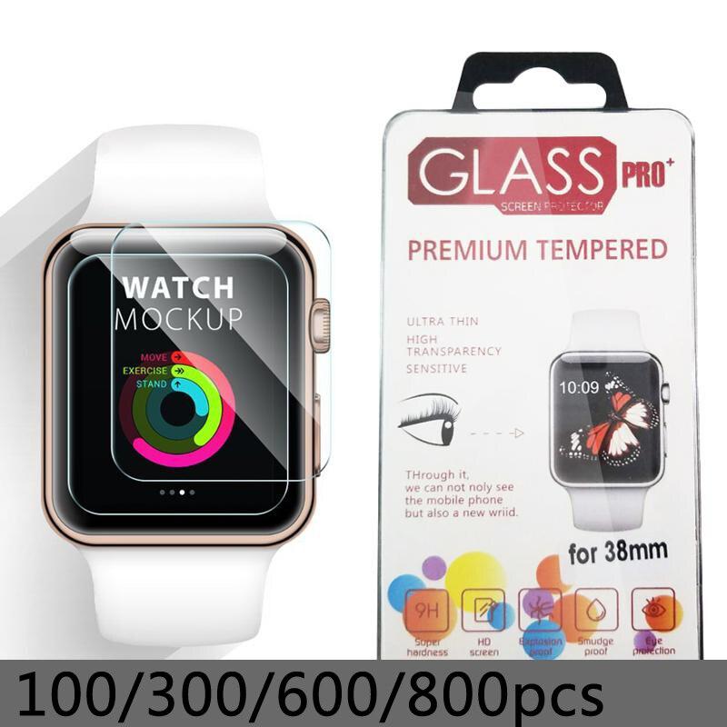 Montre intelligente verre trempé Flim pour samsung galaxy montre 46mm 0.2mm 2.5D pour apple montre écran protecteur LCD avec paquet Retal