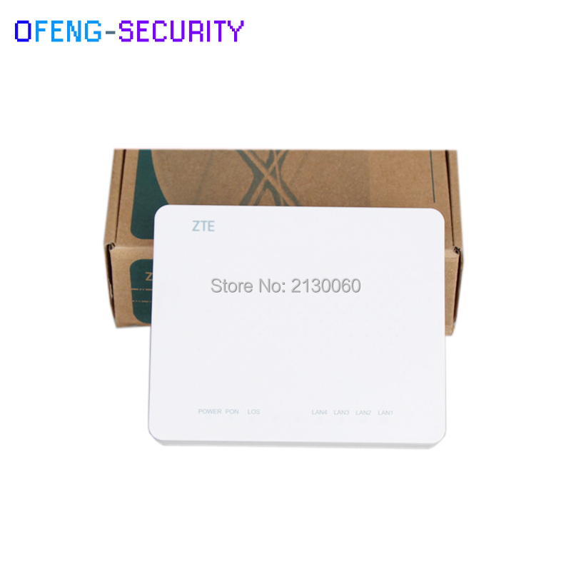10pcs/lot ZTE ZXA10 F400 EPON Router Version 6.0 Support FTTH HGU 1GE 3FE Same Function As F668 F460 F660 F600 GPON ONU ONT