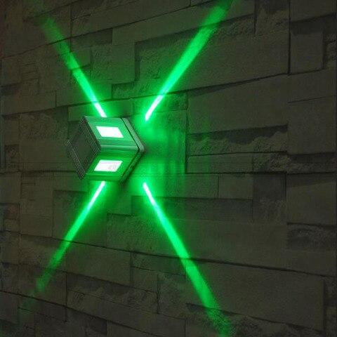 ktv barra decorativa conduziu lampada parede