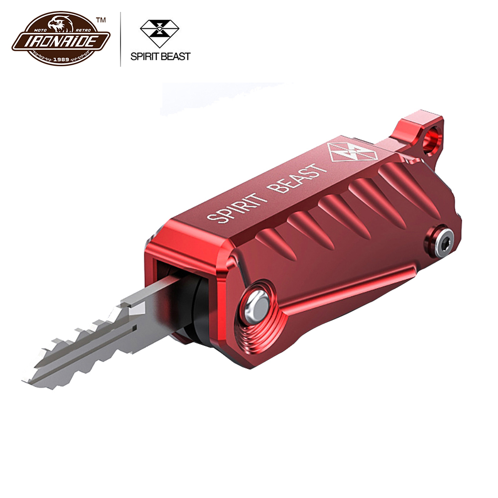 SPIRIT BEAST Motorcycle Key Cover Motorcycle Key Shell Lock Motorcycle Accessories Lock Key Shell Motorsiklet Kilit Moto Lock