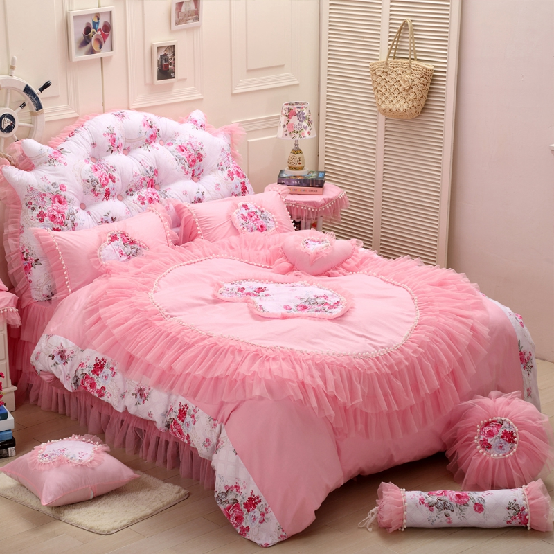 Online Buy Wholesale Pink Satin Bedspread From China Pink