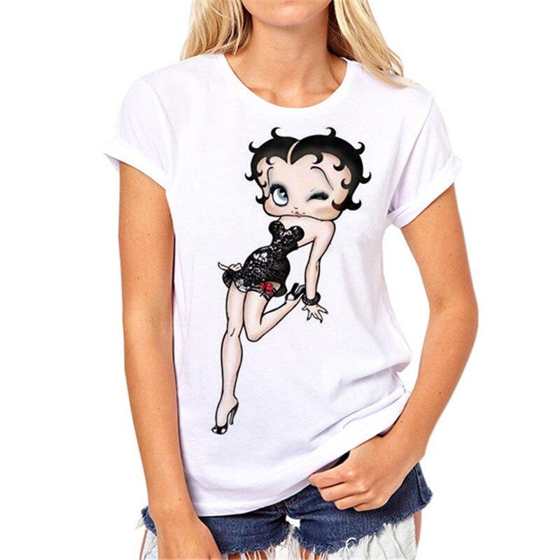 Mädchen weißes T-shirt Marke Neue Frauen T-shirt Tattoo Vogue - Damenbekleidung - Foto 6