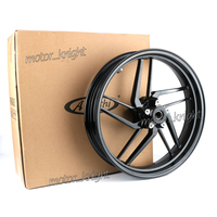 Motorcycle Aluminum Motorbike Accessories Arashi Black Front Wheel Rim For ducati PANIGALE 899 2014 2015& 1199PANIGALE 2013 2015