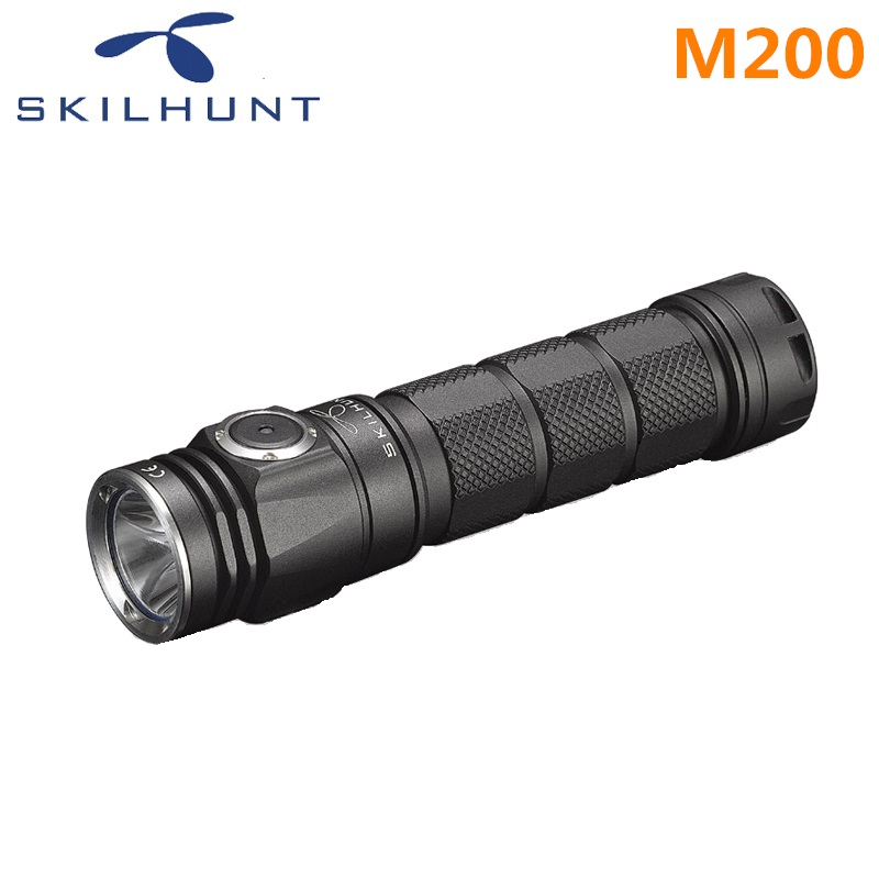 купить 2018 new Skilhunt M200 CREE XP-L LED 1050 Lumens USB magnetic charging flashlight недорого