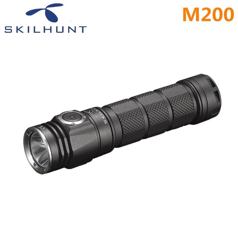 2018 nuovi Skilhunt M200 CREE XP-L LED 1050 Lumen USB magnetica di ricarica torcia elettrica2018 nuovi Skilhunt M200 CREE XP-L LED 1050 Lumen USB magnetica di ricarica torcia elettrica