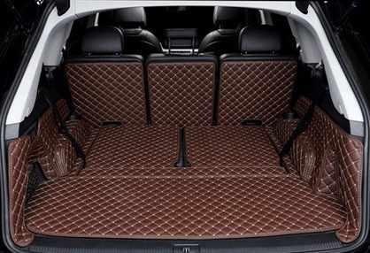 Авто Коврики для багажника автомобиля коврики для автомобиля Audi Q7 2016.2017.2018 окружении все ковры высокое качество вышивка кожа