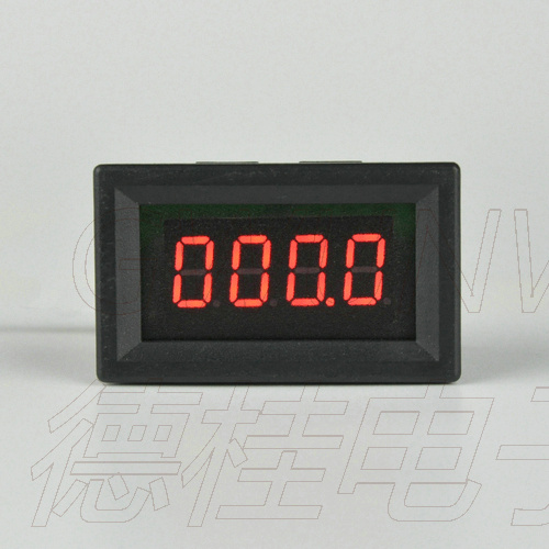 GWUNW DC 0-999.9V (1000V) four bit high precision voltmeter digital display high voltage voltage meter 0.36 Inch 4 bit LED gwunw by456v dc 0 30 00v 30v 4 bit digital voltmeter panel meter red blue green 0 56 inch voltage tester meter