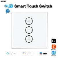 Tuya EU WiFi Smart Decke Fan Schalter APP Remote Timer Speed Control Kompatibel mit Alexa Echo Google Home Keine Hub erforderlich|Schalter|   -