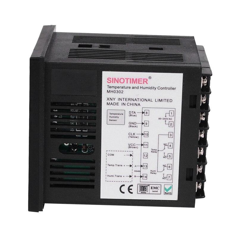 Haute qualité MH0302 régulateur de température numérique Thermostat universel entrée relais sortie température et humidité contrôleur - 3