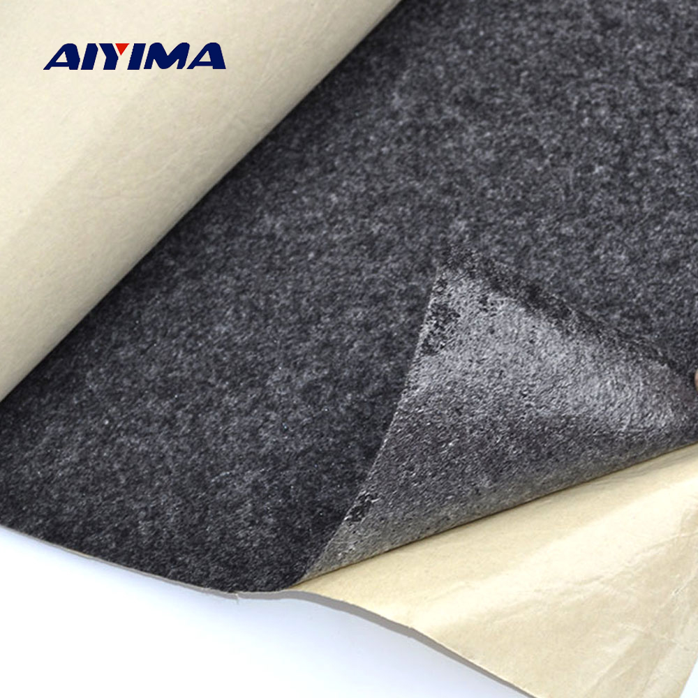 AIYIMA 1mx1mx2.5mm Subwoofer Active Speaker Case Sticker Cloth Speaker Repair Parts Accessories DIY Home Theater Sound System