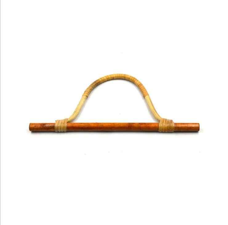 ... 32X16 CM Nature Straw Bag Handle Rattan Purse Frame Hanger DIY  Wholesale Handbag Accessories Bag Parts e9a5b5a03d337