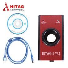 HiTag Programmierer HiTag2 V 3,1 Auto Transponder Schlüssel Programmierer Immo Remote Key Maker VIN PIN Code Reader Für Mulit- marke