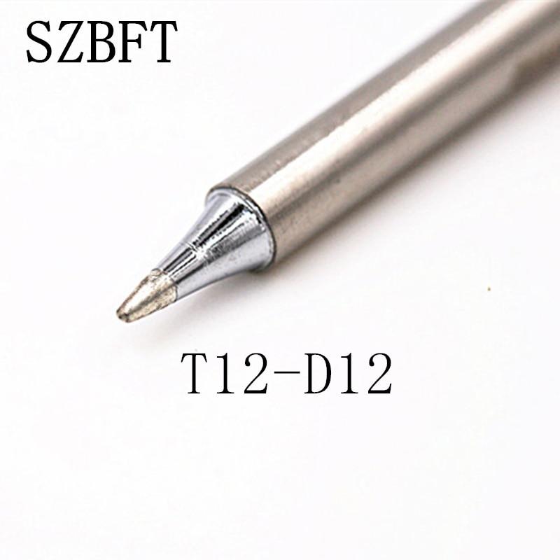SZBFT Punte di ferro per saldatura T12-D12 D4 D08 D16 D24 C4Z serie - Attrezzatura per saldare - Fotografia 2
