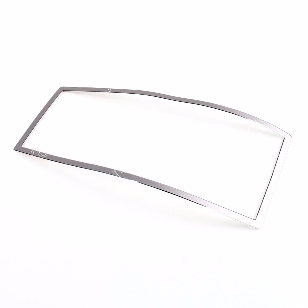 Areyourshop Car Front Reading Light Cover Trim Frame Sticker for Benz E Class W212 2010 2011 2012 2013 2014 2015 Silver/Red