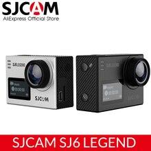 """SJCAM SJ6 אגדה 4K 24fps Ultra HD Notavek 96660 עמיד למים פעולה מצלמה 2.0 """"מסך מגע מרחוק WIFI גלם ספורט DV"""