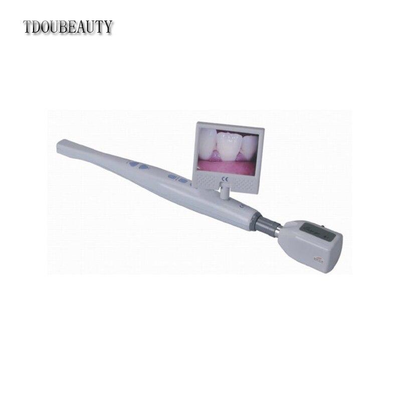 TDOUBEAUTY Dentaire Sans Fil Intra intra Orale Caméra USB SD Carte 6-LED Mega Pixels (CF-986 + M-89 + M-99)