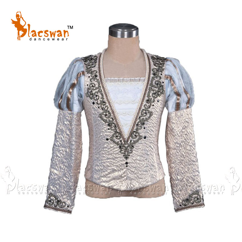 Custom Made Man Ballet Jacket / Prince Dance Costumes, Ballet Coat For Boy BT794 Professional Ballet Tunic Costume Tops Jacket