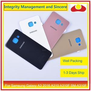 Image 2 - Original For Samsung Galaxy A3 2016 A310 A310F SM A310F A310H Housing Battery Door Rear Back Cover Case Chassis Shell