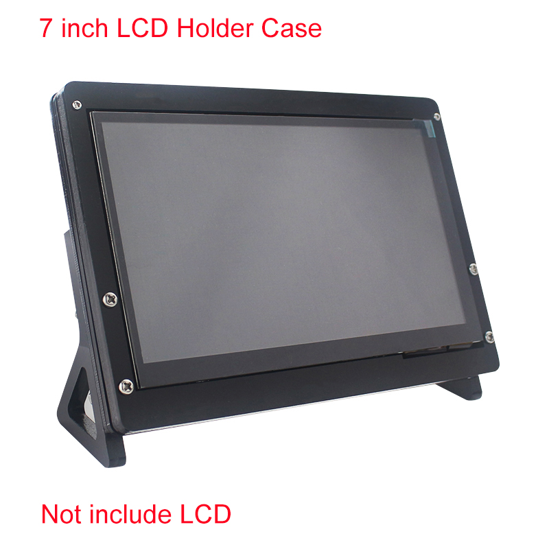 7 inch LCD Display Touch Screen Housing Bracket for Raspberry Pi 4/3B+/3B Acrylic Holder for 7 inch Raspberry Pi LCD 1024 *600