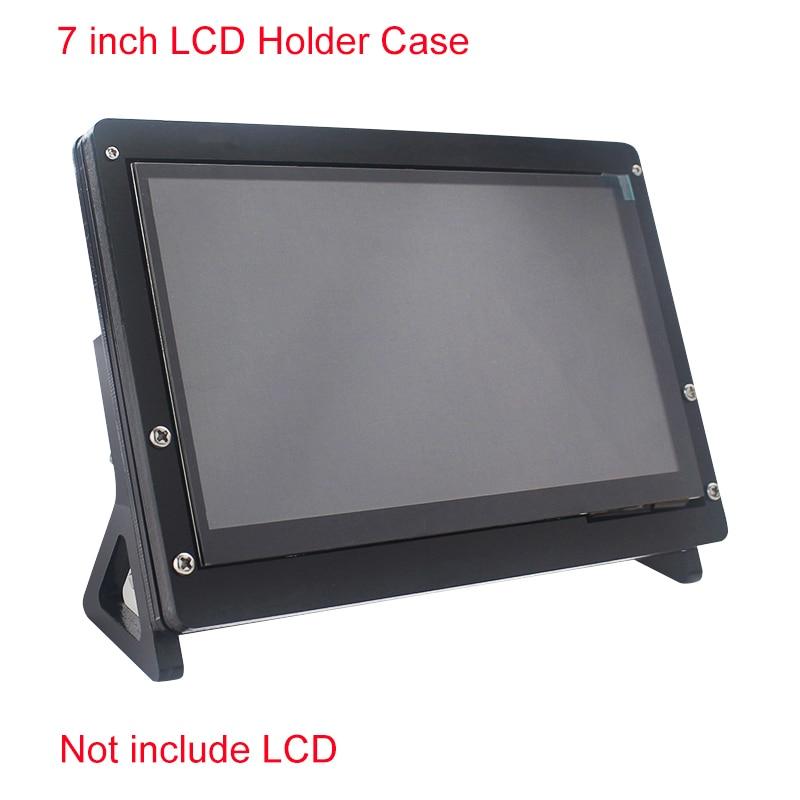 7 Inch LCD Display Touch Screen Housing Bracket For Raspberry Pi 4/3B+/3B Acrylic Holder For 7 Inch Raspberry Pi LCD 1024 *600