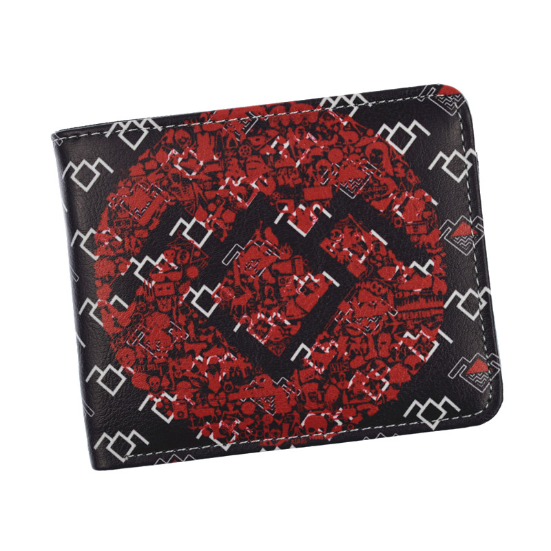 TV Twin Peaks Wallet New Fashion Men's Short Wallets Coin Purse With Card Holder Dollar Price new anime style spiderman men wallet pu leather card holder purse dollar price boys girls short wallets with zipper coin pocket