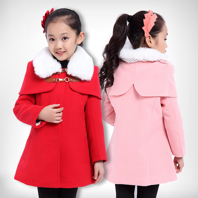 Aliexpress.com : Buy Children Faux Fur Coat Baby Girls Winter ...