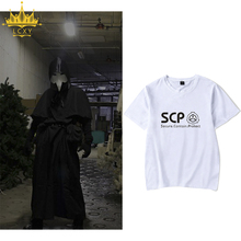 HOT SCP Special Containment Procedures Foundation Men T shirt Summer Breathable Casual Men's Tshirt Tops Tees 4XL Free Shipping