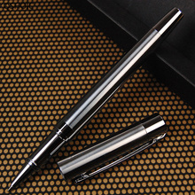 Metallic Stainless Steel Signature Water Pen Fine Workmanship Handle Neutral Gift