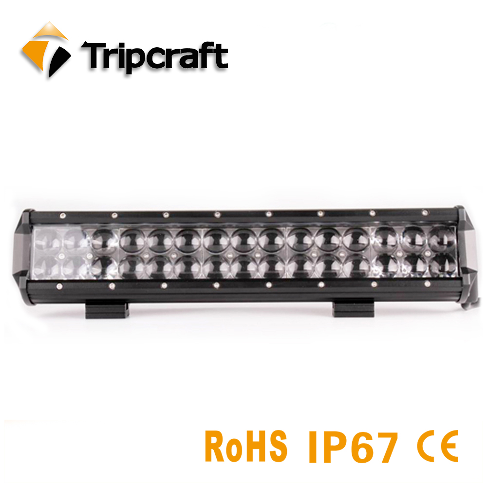 Tripcraft 14inch 150W LED Work Light LED Bar Light IP67 Waterproof for Motorcycle Tractor Boat Off Road 4WD 4x4 Truck SUV ATV