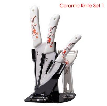 Kitchen Ceramic font b Knife b font Sets Cooking Tools cozinha faca de ceramica utilidade de