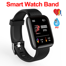 Homens Relógio à prova d água Inteligente Monitor de Pressão Arterial e Freqüência Cardíaca Smartwatch Mulheres de Fitness Rastreador Relógio Para IOS Android