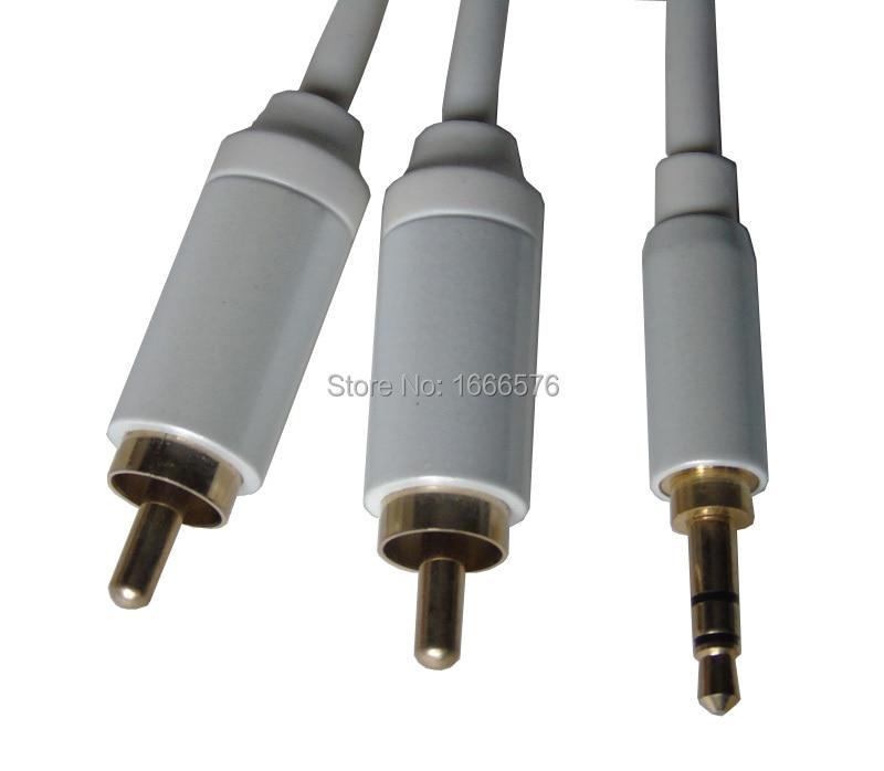 【】KL Высокое качество 1 м/3ft стерео Aux аудио кабель ...