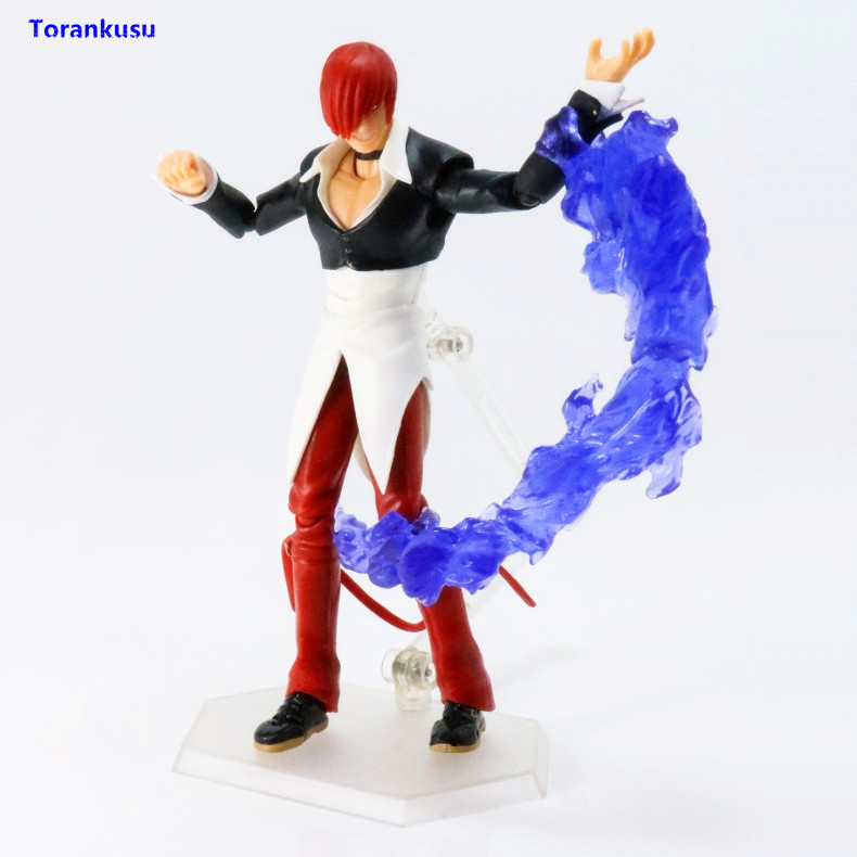 Anime The King of Fighters SP-095 Iori Yagami PVC Figure Toy Gift New in Box