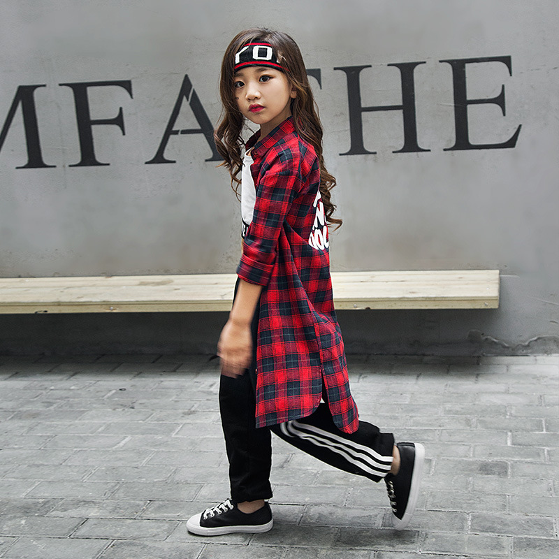 d9b266e06b8 2019 Winter Fashion Children Jazz Dance Clothing Boys Girls Street Dance Hip  Hop Dance Costumes Kids. sku  32838877015