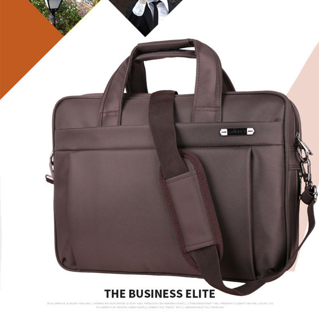 New Arrival Brand High Quality Man Computer Bag Briefcase Large Capacity Business Laptop Shoulder Messenger