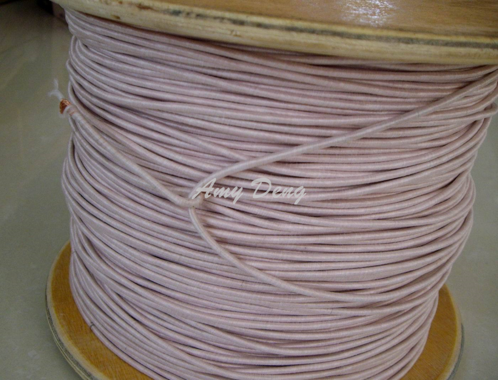 10 Meters/lot  0.1x128 Shares Its Antenna Litz Strands Of Polyester Envelope Is Sold By The Metre Copper Wire