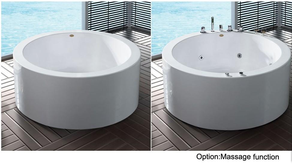 bathroom bathtub acrylic bathtub corner white 1.5M bathtube SPA ...