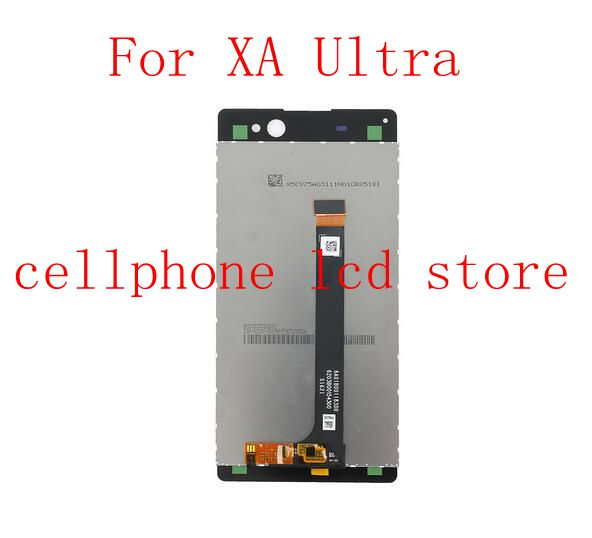 6.0For Sony Xperia XA Ultra F3211 F3213 F3215 Lcd Display+Touch Glass Digitizer Assembly replacement screen repair parts