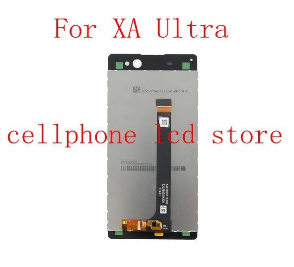 """Prix pour 6.0 """"Pour Sony Xperia XA Ultra F3211 F3213 F3215 Écran lcd + Tactile En Verre Digitizer Assemblée remplacement écran pièces de rechange"""