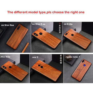 Image 5 - טלפון מקרה עבור שיאו mi Mi 9T Mi 10 9 8 Mi x 3 2s המקורי Boogic עץ מקרה עבור שיאו mi אדום mi K20 K30 פרו הערה 8 9 טלפון אבזרים