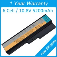 6 cell laptop battery for lenovo 3000 G550 N500 G450 B460 B550 G430LE L08O4C02 L08O6C02 51J0226 57Y6266 57Y6527 57Y6528