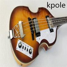 Kpole  Hofner Violin bass guitar  BB2 Icon Series electric bass Free Shipping hofner  bass Violin BB2 bass