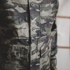 Image 3 - Madden single breasted multi bolso m a xxl tamanho camuflagem jaqueta lapela utilitário encerado lona casual algodão militar jaqueta