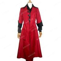 hot game Dante red cloak men coat cosplay costume