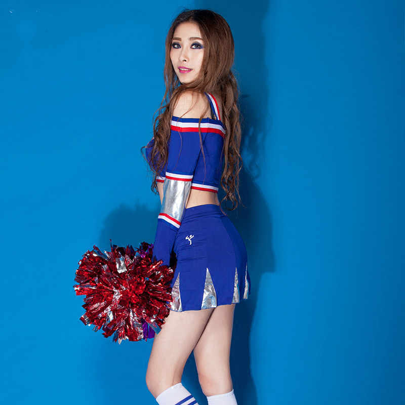 99cc72a9dac Students cheerleading dress Girl Cheerleader Costume Cheer Uniform  Cheerleading Dress Brand New Football Baby Cosplay Costumes