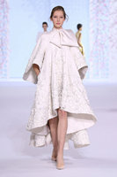 Gorgeous Ralph Russo A Line High Collar Empire Embroidery High low Evening Dress